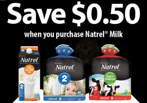 natrel coupon