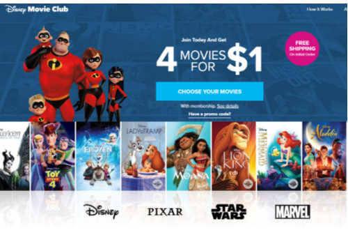 Disney Movie Club Canada