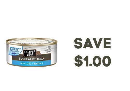Clover Leaf Tuna Coupon
