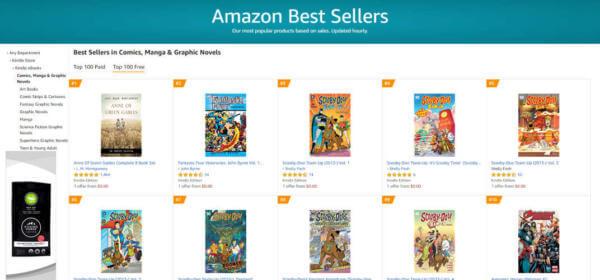 Amazon free comics