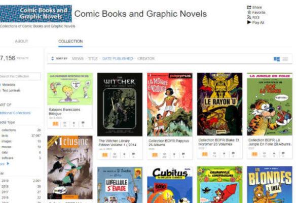 Internet Archive Comics