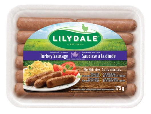 Lilydale turkey sausge- breakfast