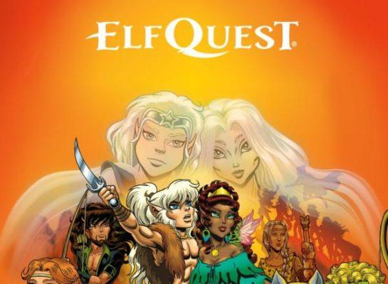 Elf Quest Comics Website