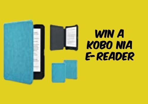 Kobo Contest: Win a Kobo Nia 6″ Digital eReader