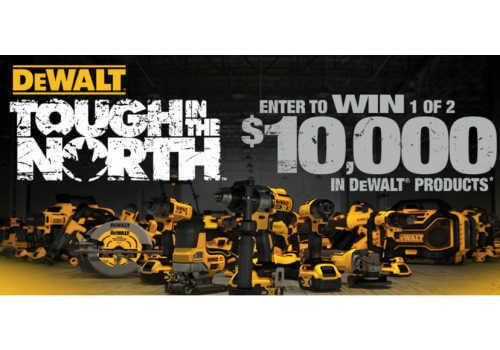 Dewalt Contest Win 1 of 2 $10,000 worth of dewalt tools