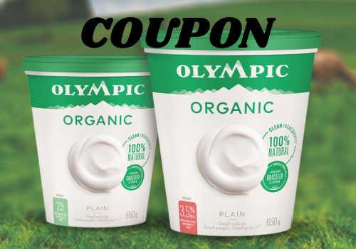 Olympic Dairy Coupon – Save on Yogurt (NEW)