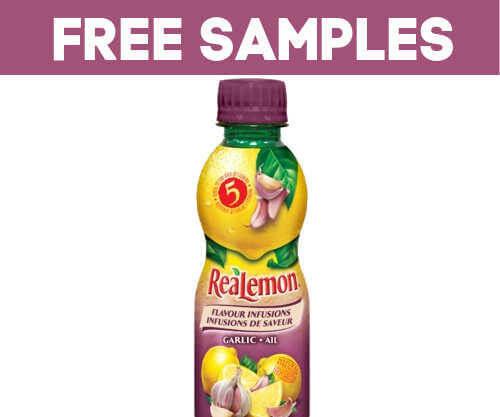 Realemon Garlic flavoured free sample