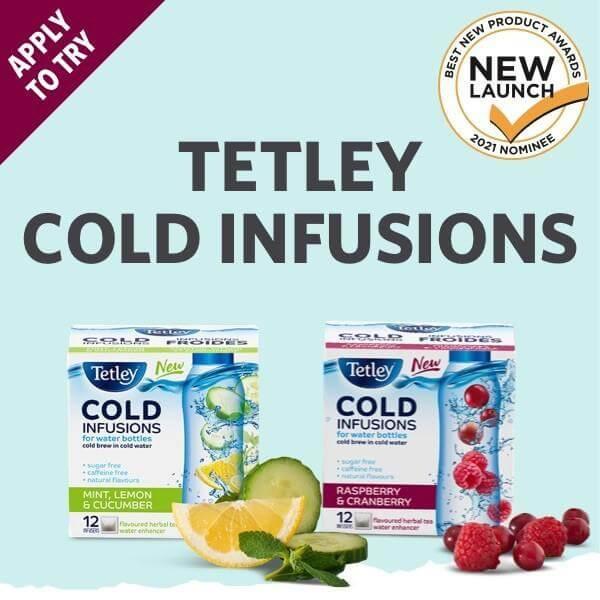 Shoppers Army Tetley tea