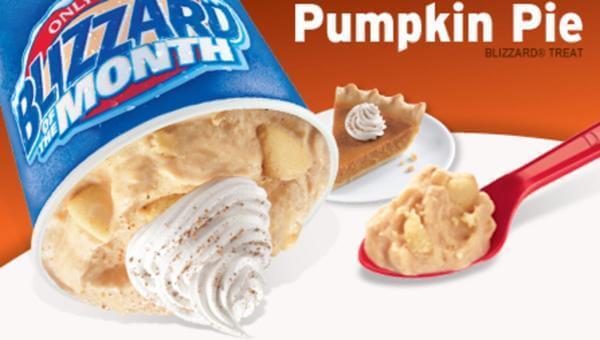 Dairy Queen Pumpkin Pie