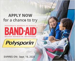bandaid- polysporin