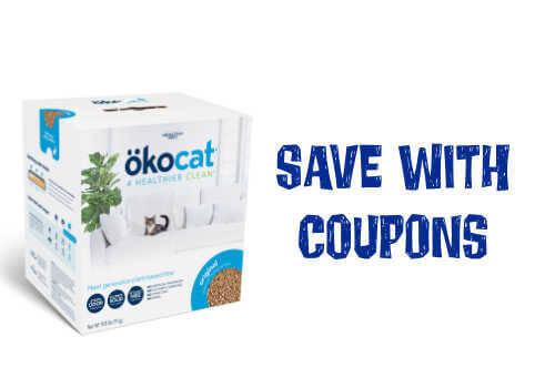 Okocat litter Coupon