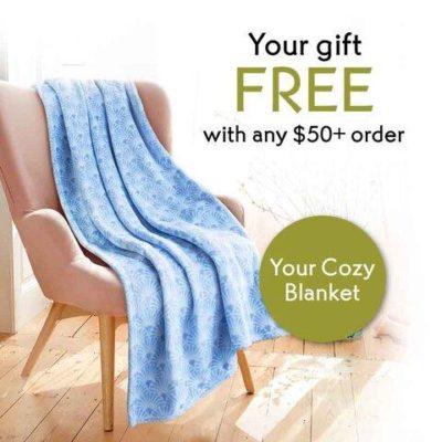Yves Rocher Free Blanket
