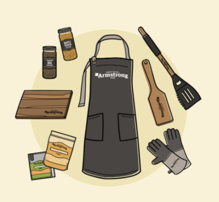 Armstrong Cheese Contest, Armstrong Cheese Canada Contest: Win the ultimate winter BBQ kit