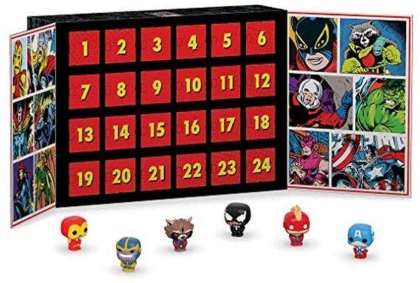 Marvel Heads Advent Calendar