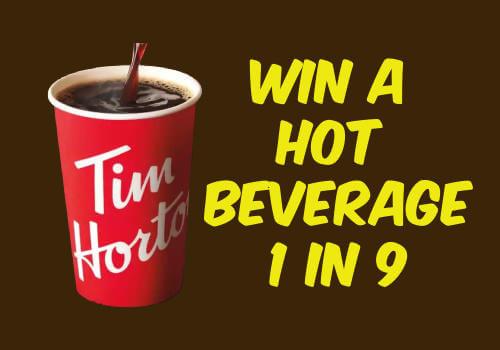 Tim Hortons Hot Beverage Giveaway