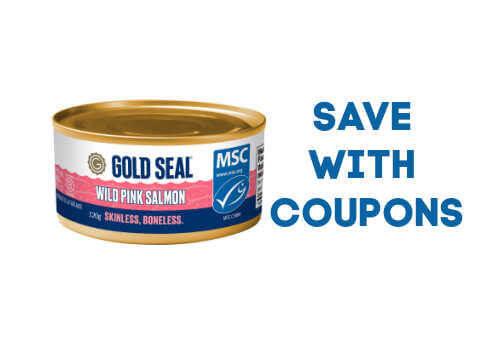 gold seal mackerel,gold seal tuna canada,gold seal salmon, Gold Seal Salmon, Mackerel & Tuna Coupons