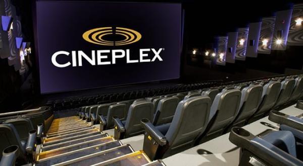 Cineplex movie screen