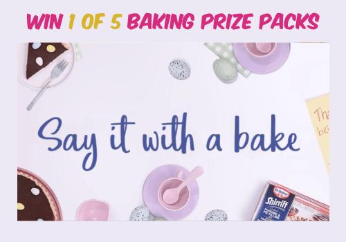 Dr Oetker Contest – Win 1 of 5 Dr. Oetker Baking Prize Packs