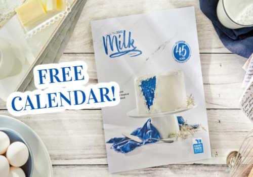 FREE 2022 Milk Calendar – Available Ontario I Alberta