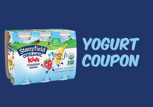 StonyField Yogurt Coupon