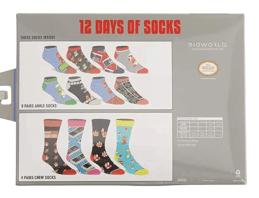 Mario Game 12 days of socks