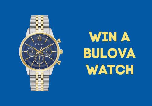 Win a Bulova Watch from Best Buy