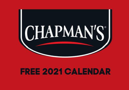 Chapmans 2021 free calendar