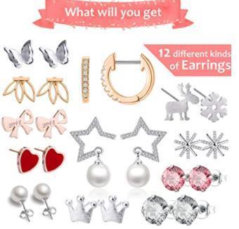 Earings Jewellery Advent Calendar