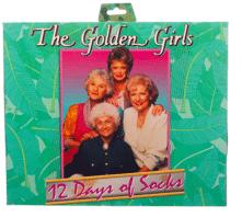 Golden Girls socks Advent Calendar