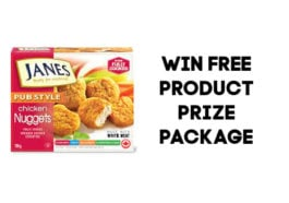 Win a Janes Chicken Prize Package filled with Janes Foods