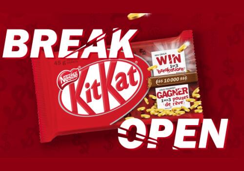 Kit Kat break contest $10,000