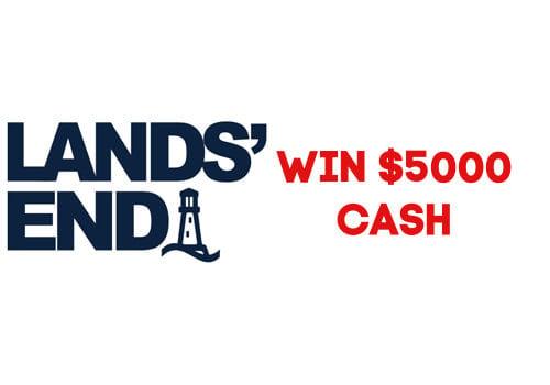 Lands End Win $5000 Cash