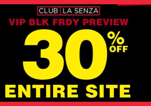 La Senza Black Friday Event