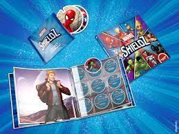 Marvel Shieldz collect series
