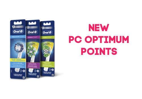 Oral B PC optimum points