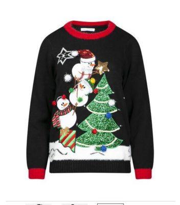 Plus size Light Up Ugly Christmas Shirt