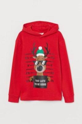 HM Ugly Reindeer Sweatshirt