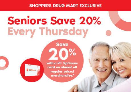 Seniors Shoppers Drug Mart
