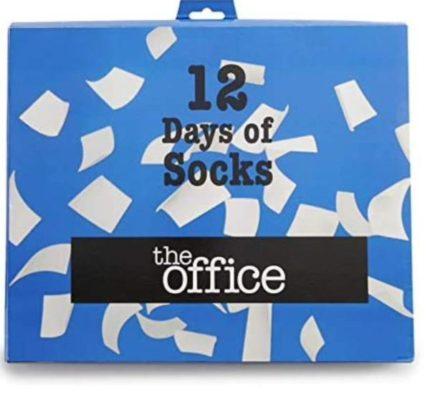 The office Socks12 days of socks