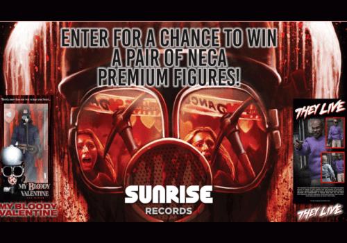 Sunrise Records Contest: WIN a Pair of NECA Premium Figurines