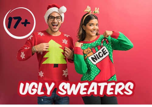 17 Ugly Christmas Sweaters to Choose from