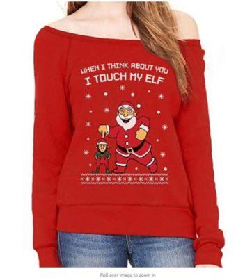 UglyElf on a Shelf Christmas Sweater
