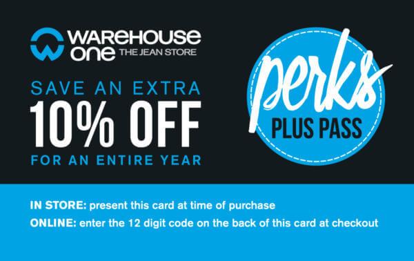 Warehouse One Perks