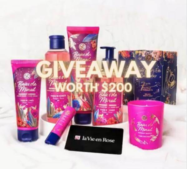 Yves Rocher Contest – Win a Giveaway worth $200