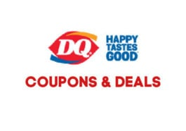 Dairy Queen Deals and Coupons