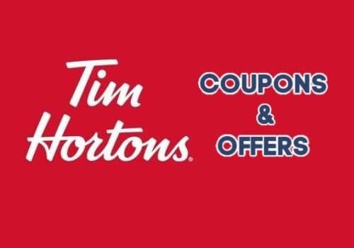 Tim Hortons Coupons & Deals