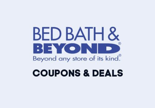 Bed Bath Beyond Coupons and deals with logo