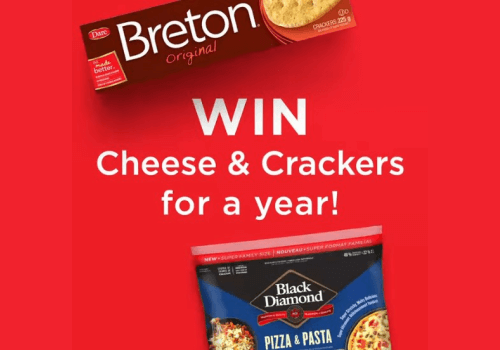 Black Diamond Contest – WIN Cheese & Crackers for a Year!