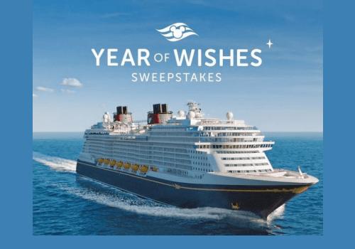 Disney Contests Canada: Win 1 of 50 Disney Wish dream cruise vacations!