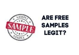 Are Free Samples Legit